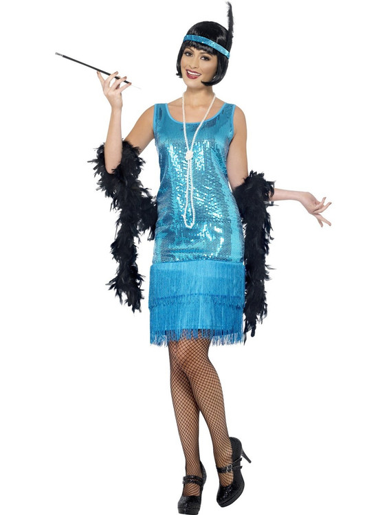 Flapper Flirty Womens Costume