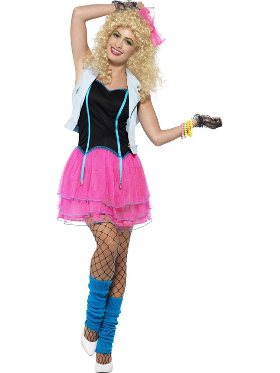 1980s Wild Girl Women's Costume