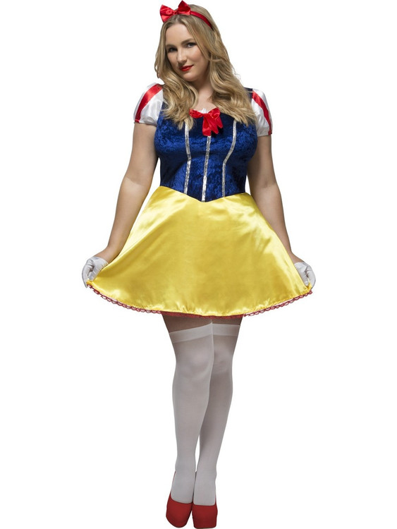 Snow White Princess Plus Size Womens Costume