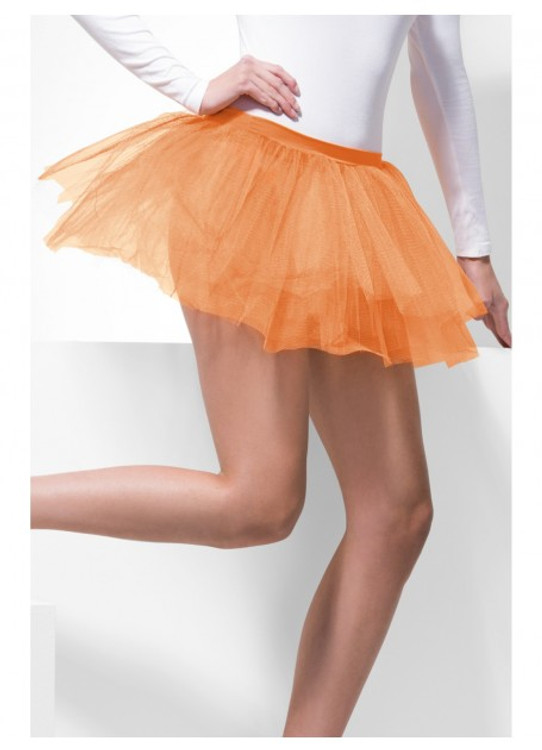 Tutu Underskirt Adult - Neon Orange