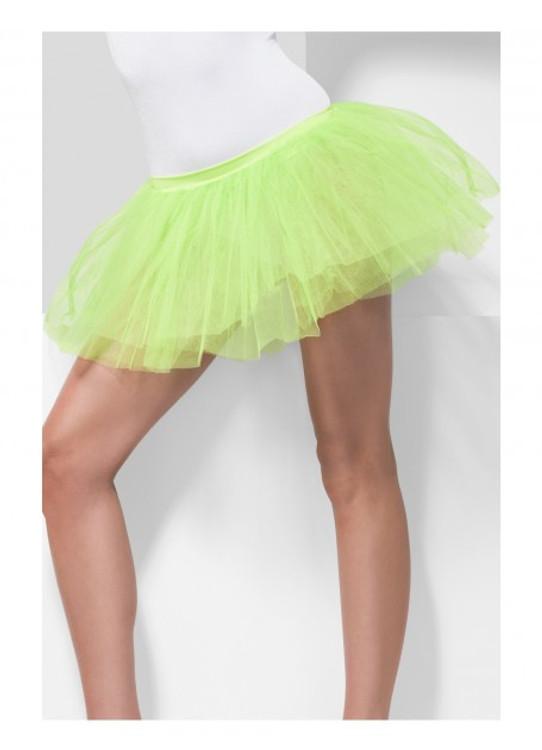 Tutu Underskirt Adult - Neon Green