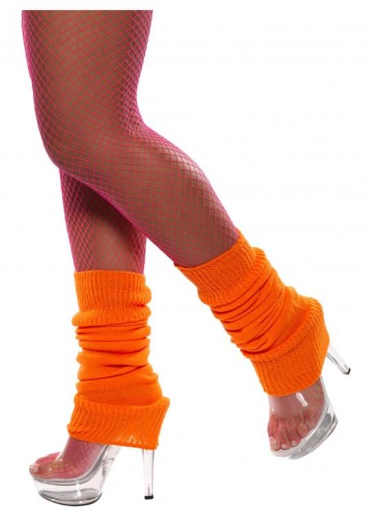 Legwarmers, Neon Orange
