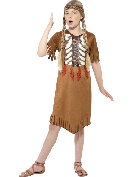 Native Indian Girl Costume