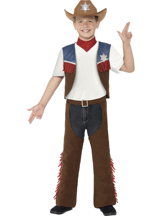 Cowboy Texan Kids Costume