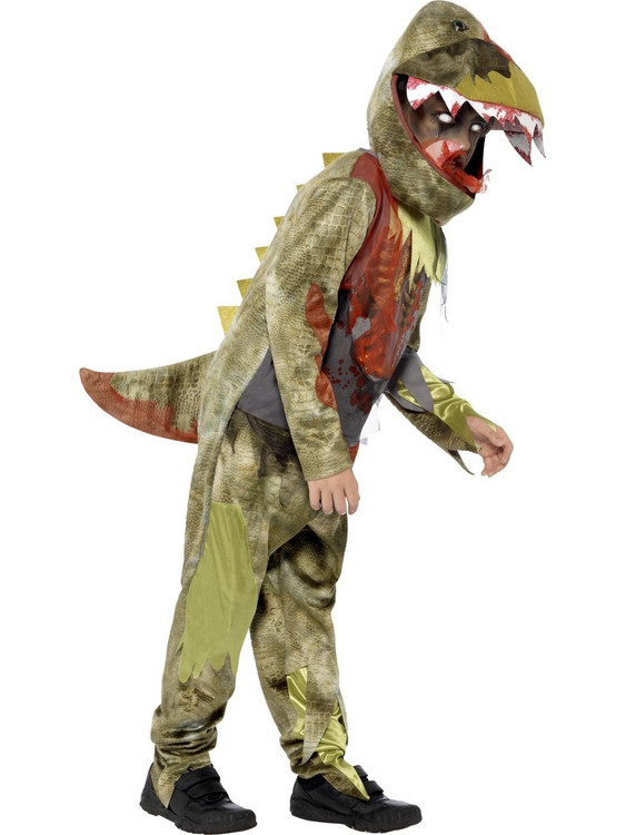 Deathly Dinosaur Boys Costume
