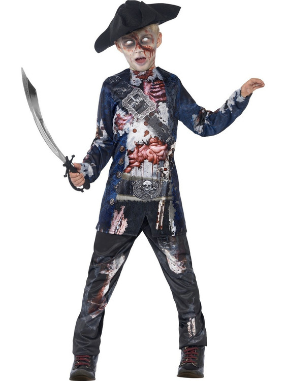 Jolly Rotten Pirate Kids Costume