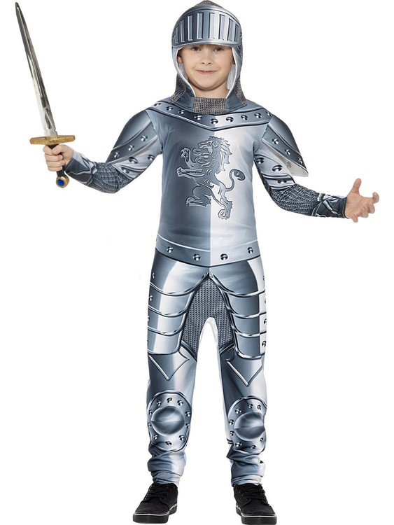 Knight Armoured Kids Costume