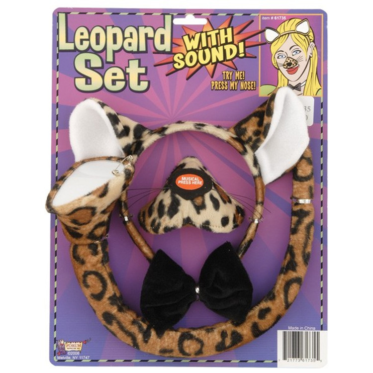 Leopard Dress Up Set with sound