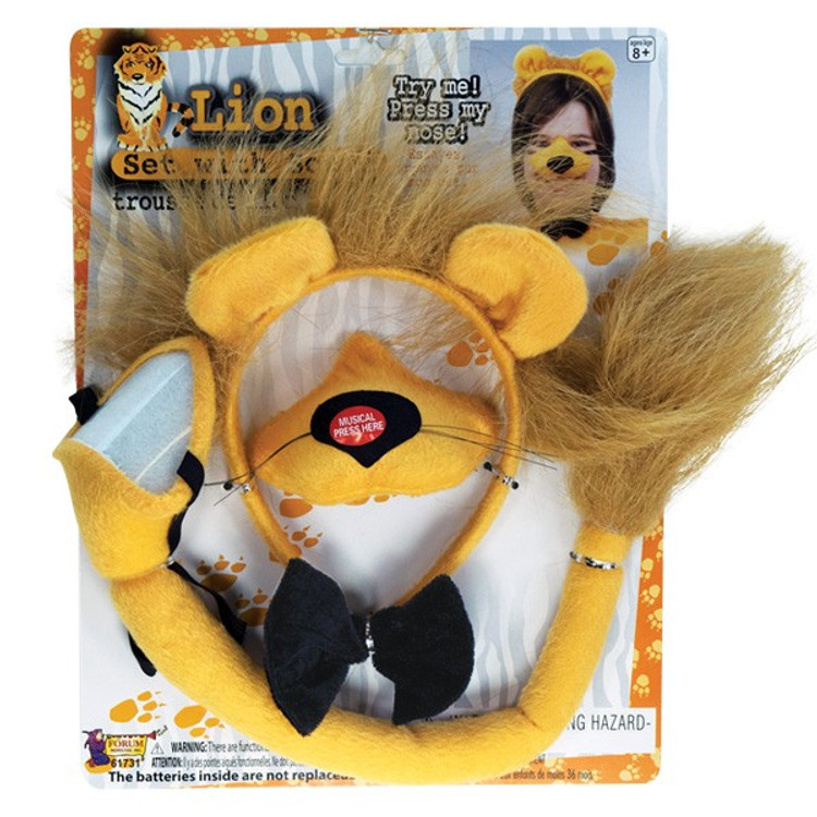 Lion Dress Up Set with sound