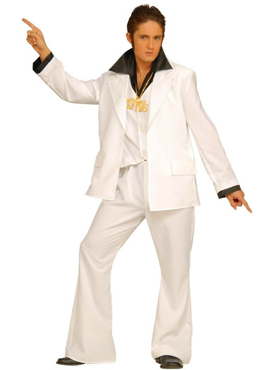 1970's Disco Fever Mens Costume