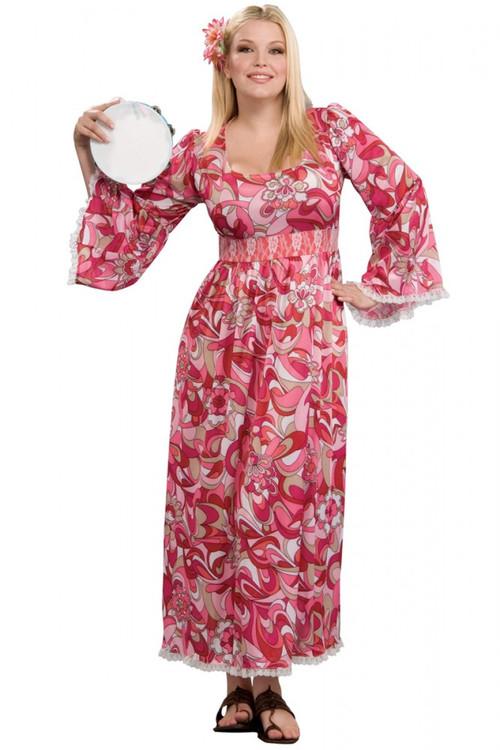 1960u0027s Flower Child Hippie Costume  sc 1 st  Costume Direct & Plus Size Costumes | Plus Size Costume Australia Online Costume Shop