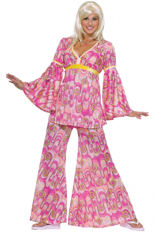1960's Flower Power Women's Hippie Costume
