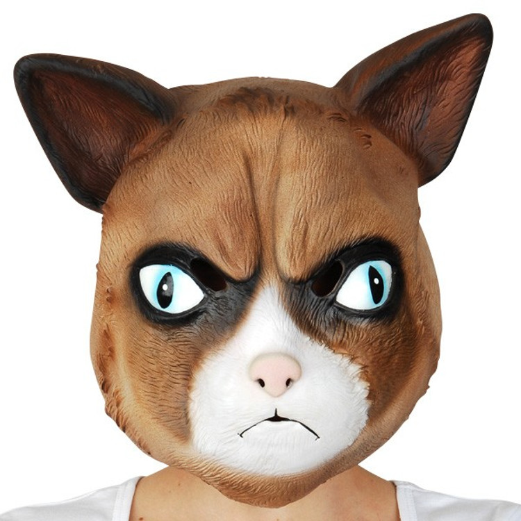 Cat Full Head Mask