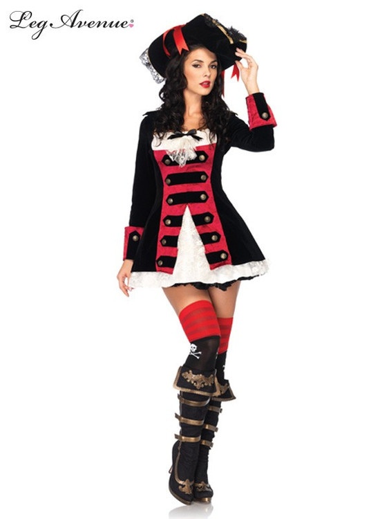 Pirate Charming Captain Womens Costume