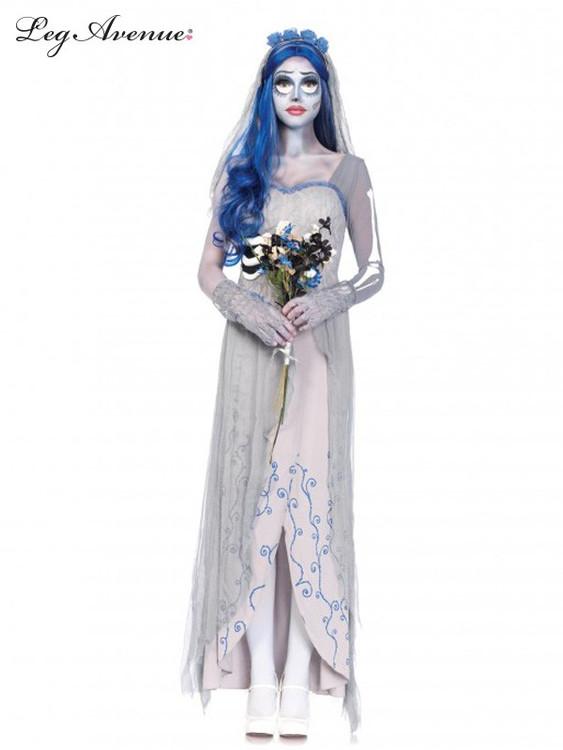 Halloween Corpse Bride Womens Costume