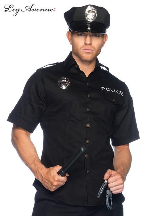 Police Cuff Em' Cop Men's Set