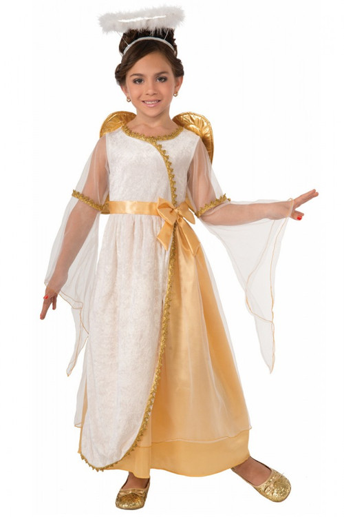 Angel Golden Toddler Girls Costume