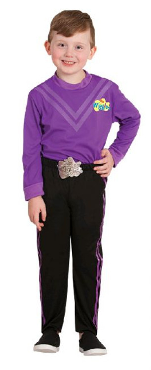 Wiggles Lachy Purple Kids Costume