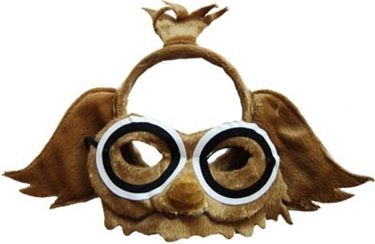 Owl Animal Headband & Mask Set