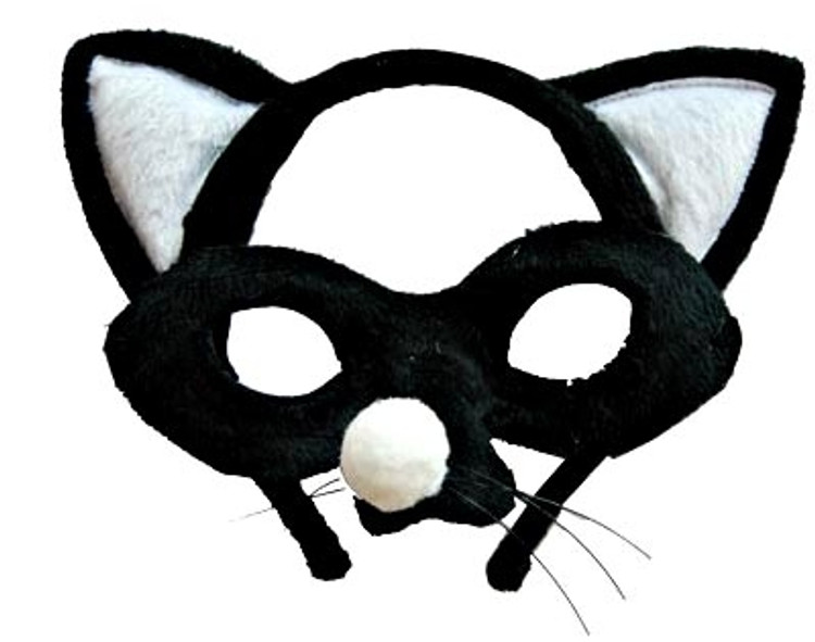 Cat Animal Headband & Mask Set