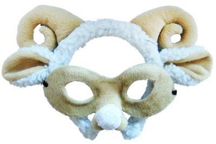 Sheep Animal Headband & Mask Set