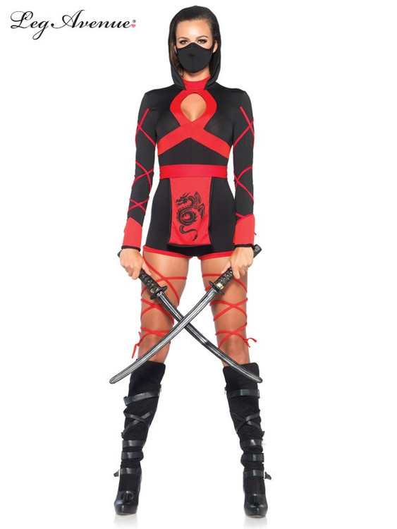 Dragon Ninja Womens Costume
