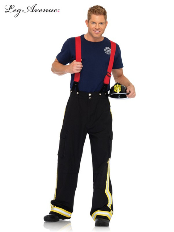 Fire Captain Mens Costume