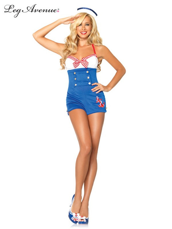 Sailor High Seas Honey Womens Costume