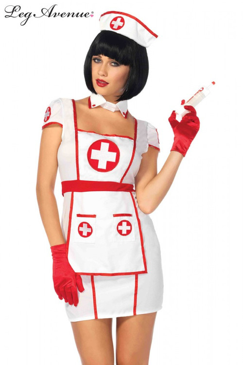 Nurse Hospital Heartbreaker Womens Costume