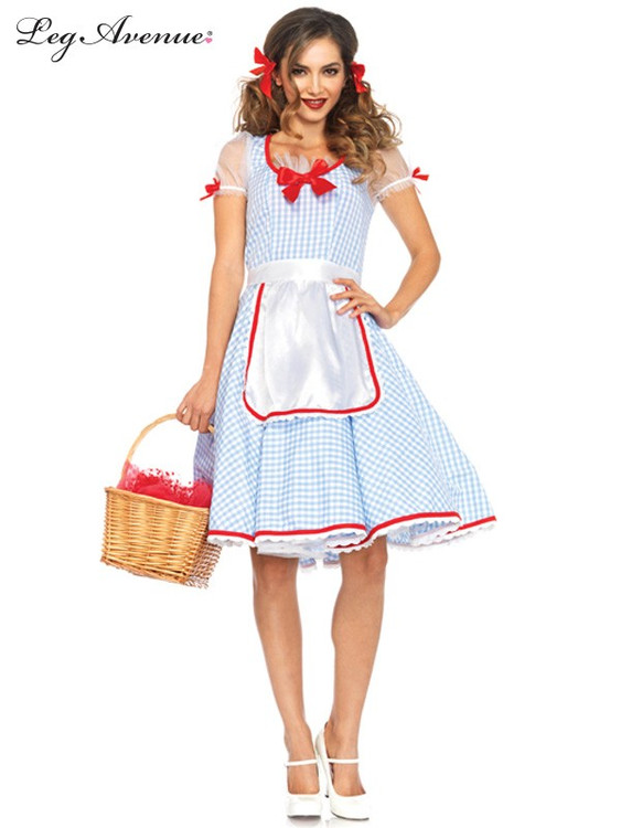 Wizard of Oz - Dorothy Kansas Sweetie Womens Costume
