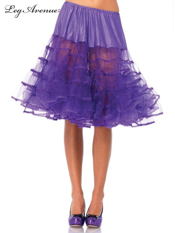 Petticoat Mid Length Purple