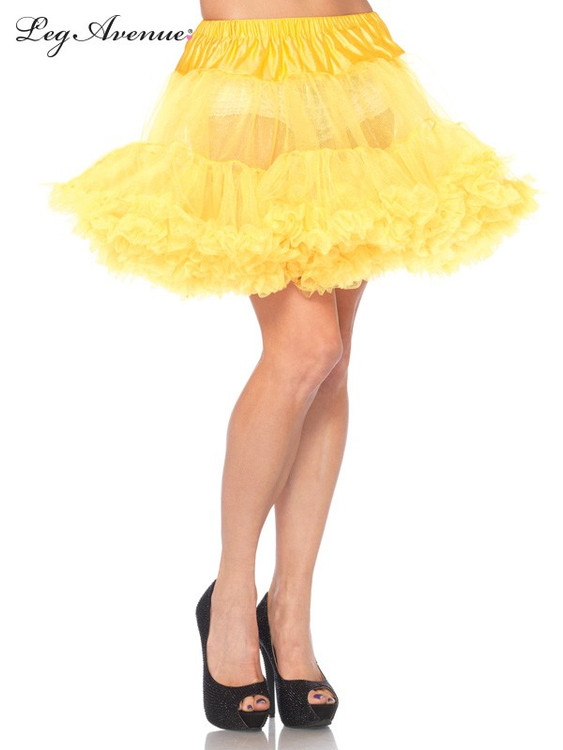 Petticoat Layered Tulle Yellow