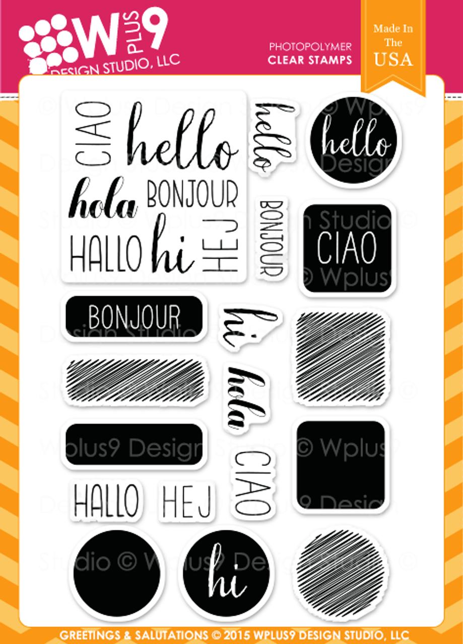 Greetings salutations wplus9 design studio llc greetings salutations m4hsunfo