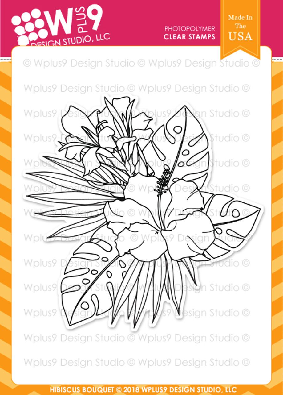 Wplus9 Hibiscus Bouquet
