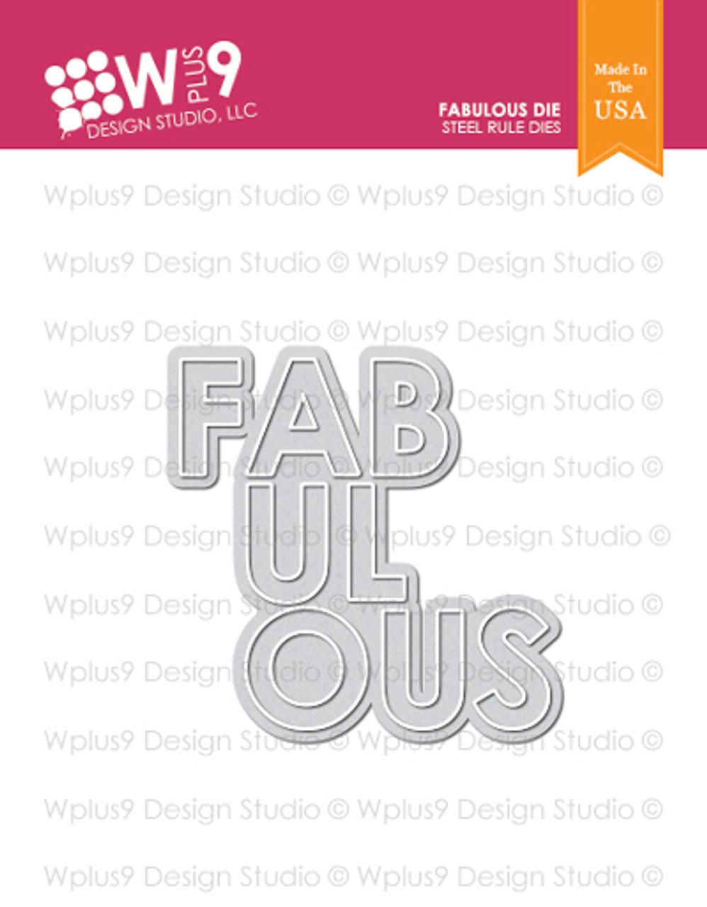 Wplus9 Fabulous Die