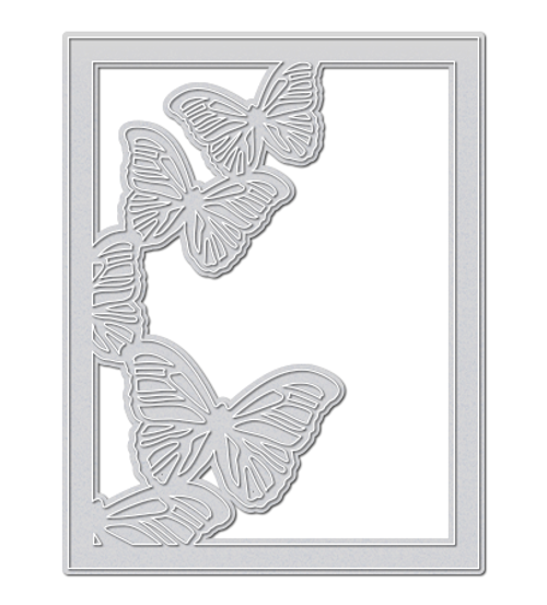 Large Butterfly Frame Die - WPlus9 Design Studio, LLC