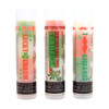 St Patrick's Day 3 Pack  You're going to go wild over these 3 moisturizing and multi flavored lip balms! Each themed for St Patrick's Day each tube offers 3 flavors... they are just waiting for you to try them all! The colors in the tubes are beautiful BUT they are only to show you what flavor you are on, or going to next!  For example: The first tube on the left in the picture of Our St Patrick's Day 3 Pack... The first flavor you will enjoy is Pistachio for the whole green section, once the green is all gone you will go to the white which is Vanilla Icing, then onto orange and enjoy Caramel!  All of the lip balms no matter what color in the tube... apply clear to the lips!  Below you will find a complete list of each lip balm and the wonderful flavors you will enjoy. When you get Our St Patrick's Day 3 Pack you will have multiple lip balm flavors for yourself or plenty to share with all of your friends to enjoy! These lip balms are moisturizing and are amazing! By ordering Our St Patrick's Day 3 Pack you save...$1.00, Higher discounts if you click on the Bulk pricing!!  Lucky Charm ~                                                       Green: Pistachio, White: Vanilla, Orange: Caramel  Rockout with your SHAMROCK out! ~           Orange: Mango Peach Fusion, Green: Strawberry Lime, White: Lemon Pound Cake  I Mustache U for a KISS ~                         White: Iced Pineapple Tangerine, Orange: Tangerine Tango, Green: Honeysuckle Nectarine  *** These are shown in the picture from left to right  All Gettin Lippy flavored lip balms:  The first ever multi-flavored lip balm... never get tired of just one flavor! Unlike other lip balms, Gettin Lippy lip balms are made to deliver the best moisturizing lip balm Moisturizing, and make your lips feel like silk! Long lasting, you might want to reapply for the wonderful aroma to enjoy, but the lip balm last a long time! No sticky feeling on your lips! Best lip balm!!! Applies Clear to Lips! Great gift idea for holidays, special occasions, or to share with friends! MADE IN THE USA!!