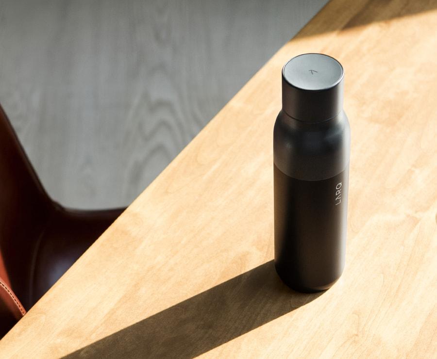 Bottle on Desk