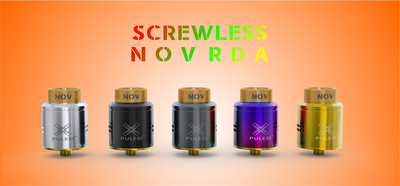 NOV (Screwless RDA) by Pulesi