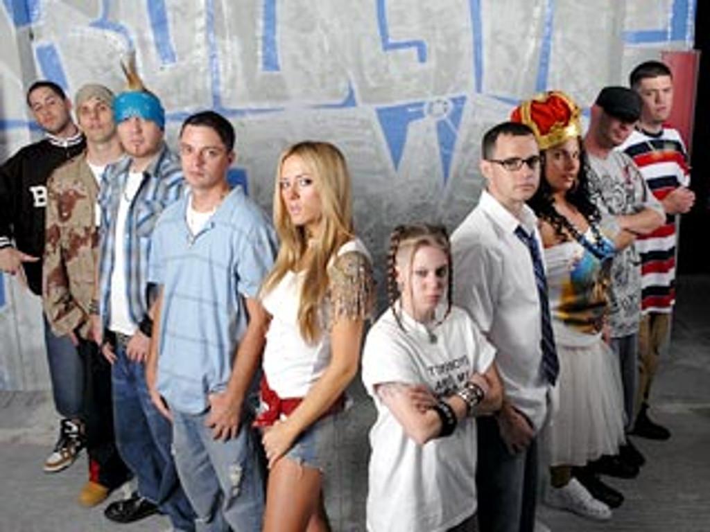The White Rapper Show DVD