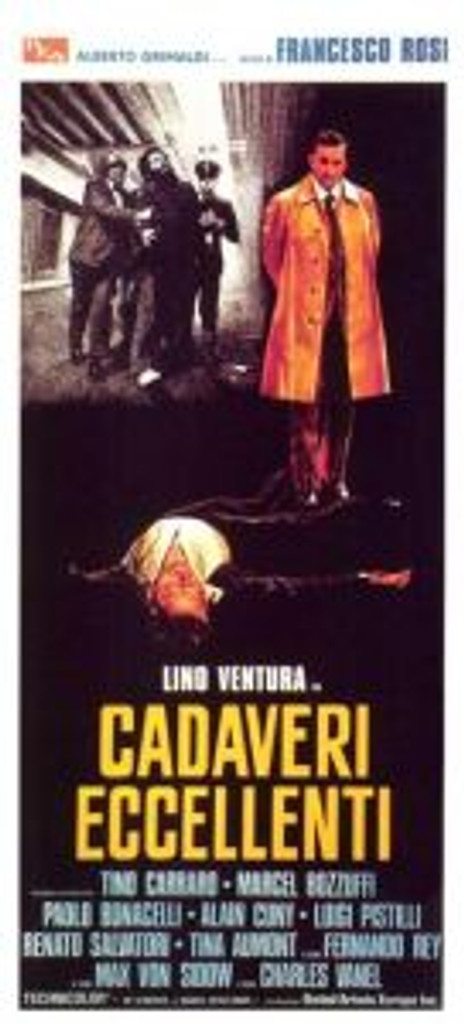 Also known as Illustrious Corpses (Awesome movie that needs a remake!)
