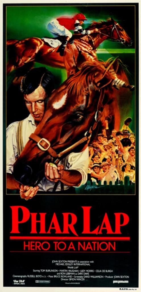 """Region 1 DVD of Film """"Phar Lap"""""""