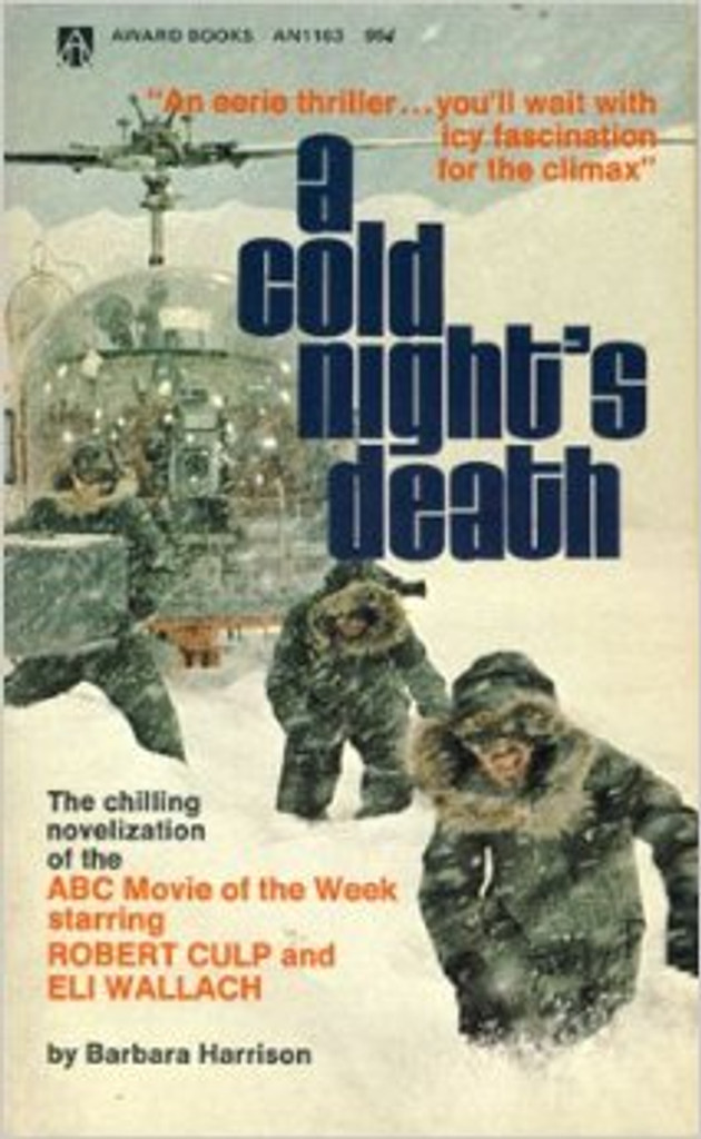 """""""The Chilling novelization of the ABC movie of the week"""" by Barbara Harrison"""