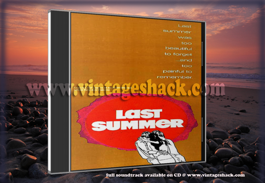 Last Summer Soundtrack CD (Cult classic movie with an equally classic soundtrack)