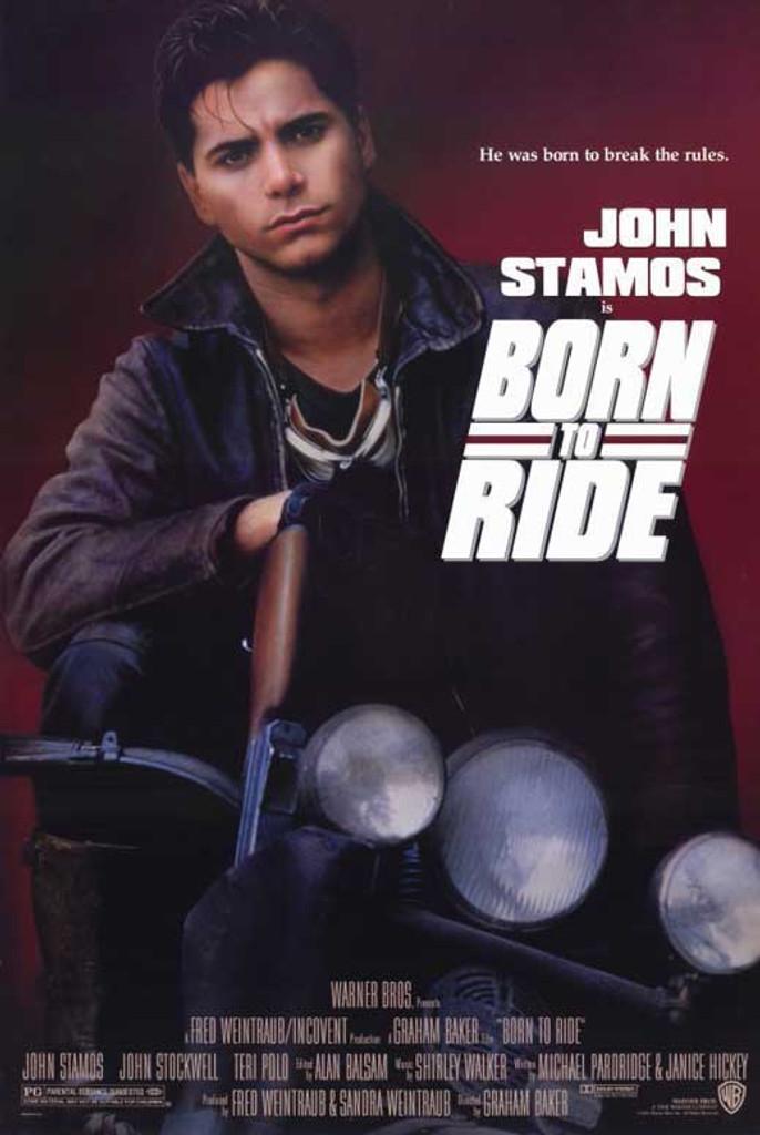 Born to ride DVD 1991 starring John Stamos and Terri Polo