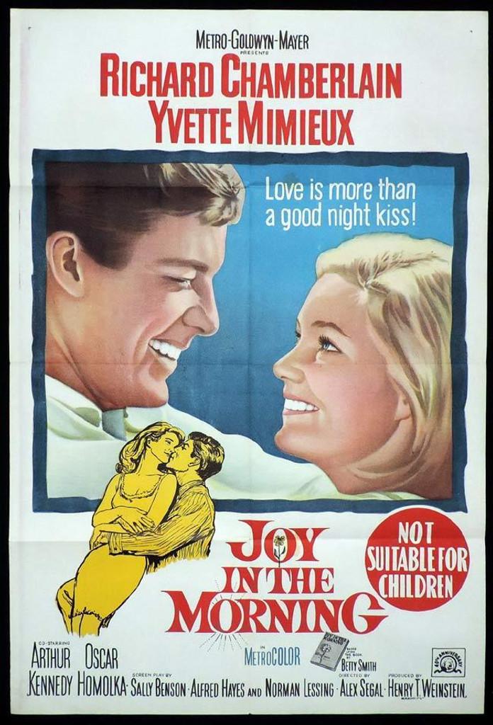 joy in the morning on DVD yvette mimieux, Richard Chamberlain