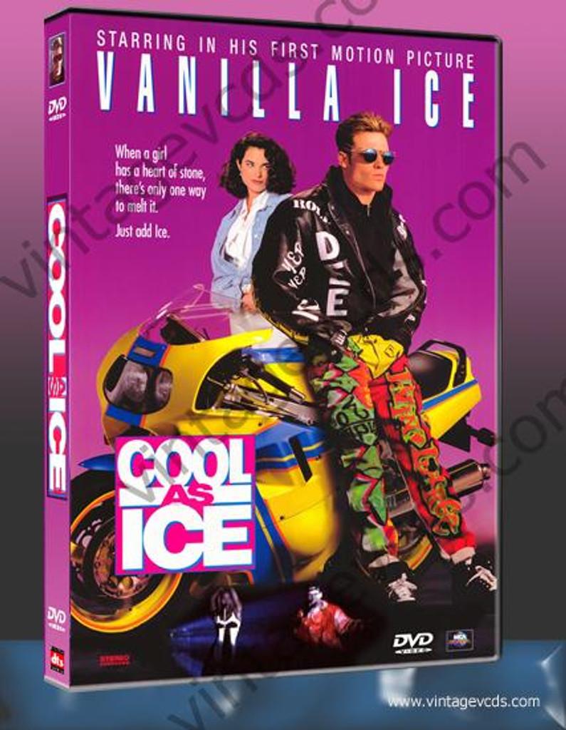 Cool as Ice DVD Starring Vanilla Ice