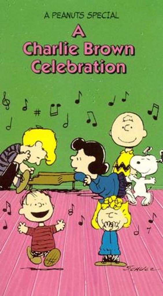 A Charlie Brown Celebration DVD