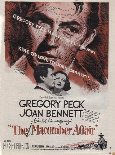 """Gregory Peck Stars in """"The Macomber Affair"""""""