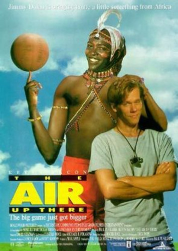 The Air up there DVD starring Kevin Bacon